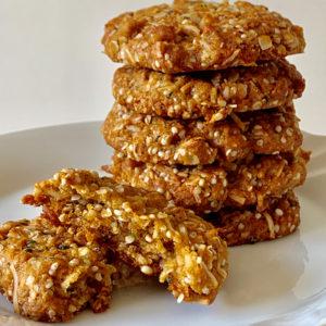 Hemp Recipe Hemp Anzac Biscuits