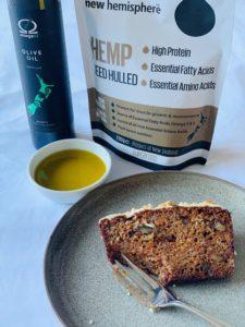 Hemp Recipe Carrot, Zucchini and Hemp Seed Loaf