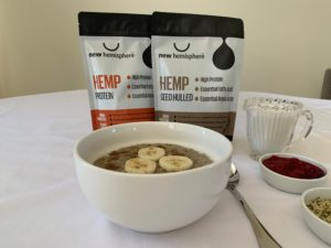 Hemp Breakfast Hemp Porridge
