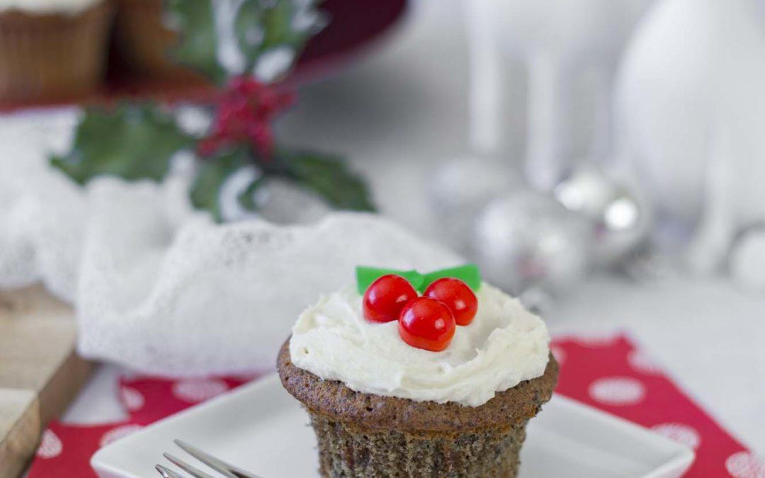 Xmas Hemp Cupcakes