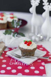 Hemp Christmas Cake Muffins