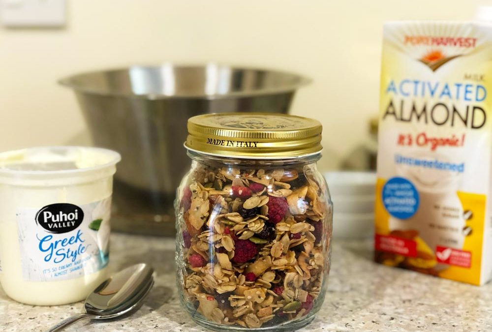 Yummy Granola with Hemp